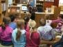Prvňáci v knihovně
