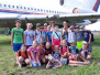 Třeťáci v muzeu letadel