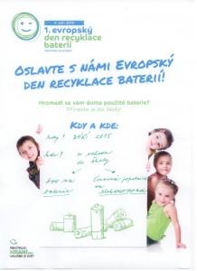 Evropsky den recyklace baterii