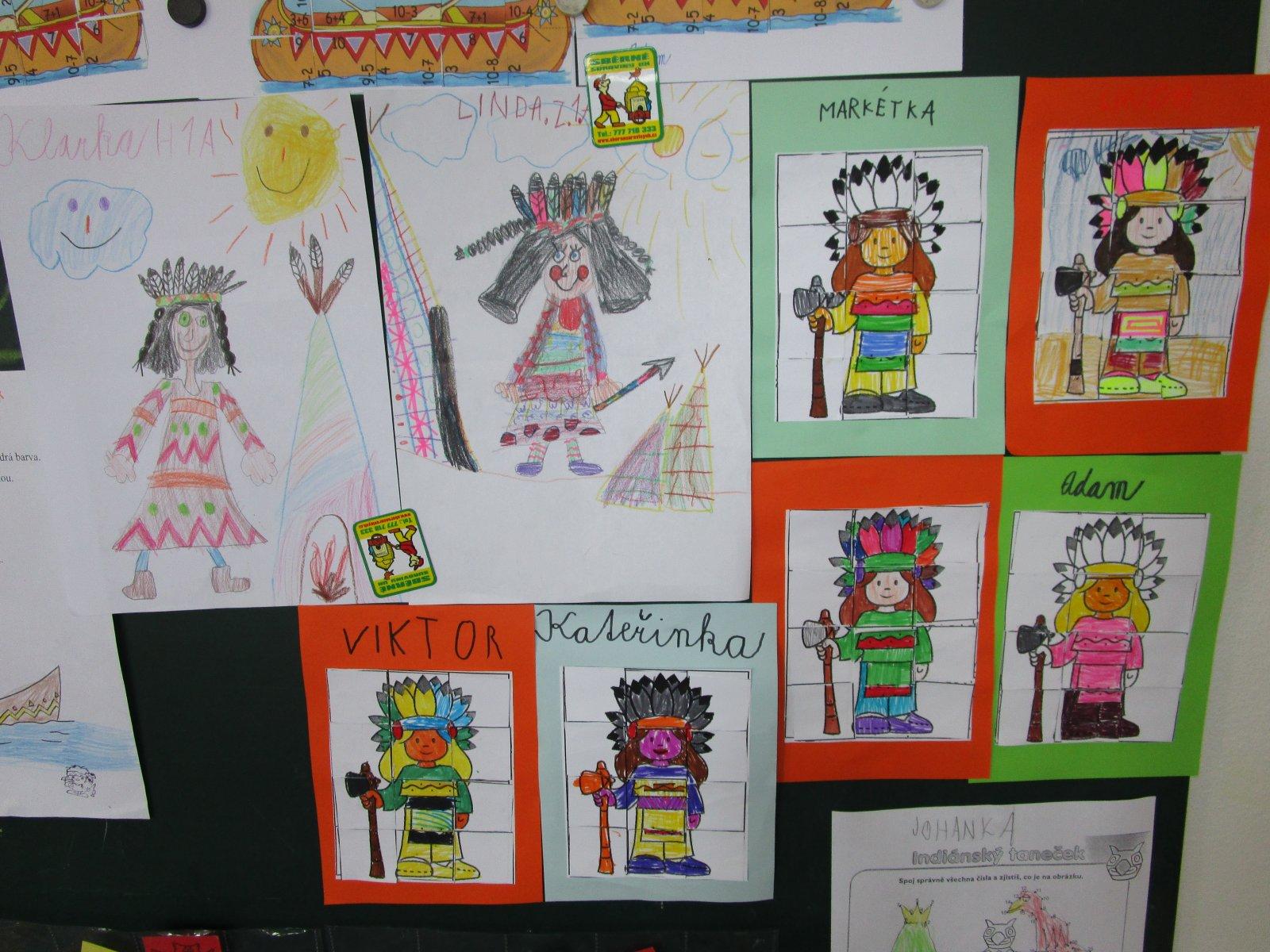 Indiani V Prvnich Tridach Zakladni Skola Stare Mesto